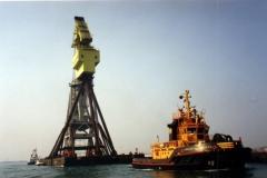ADD rimorchio gru su pontone